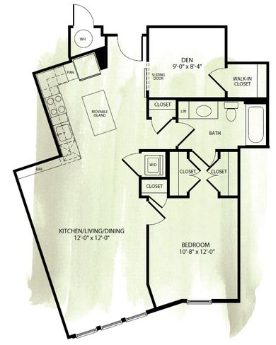 Apartment Floor Plans - Apartments in DC | Monroe Street Market