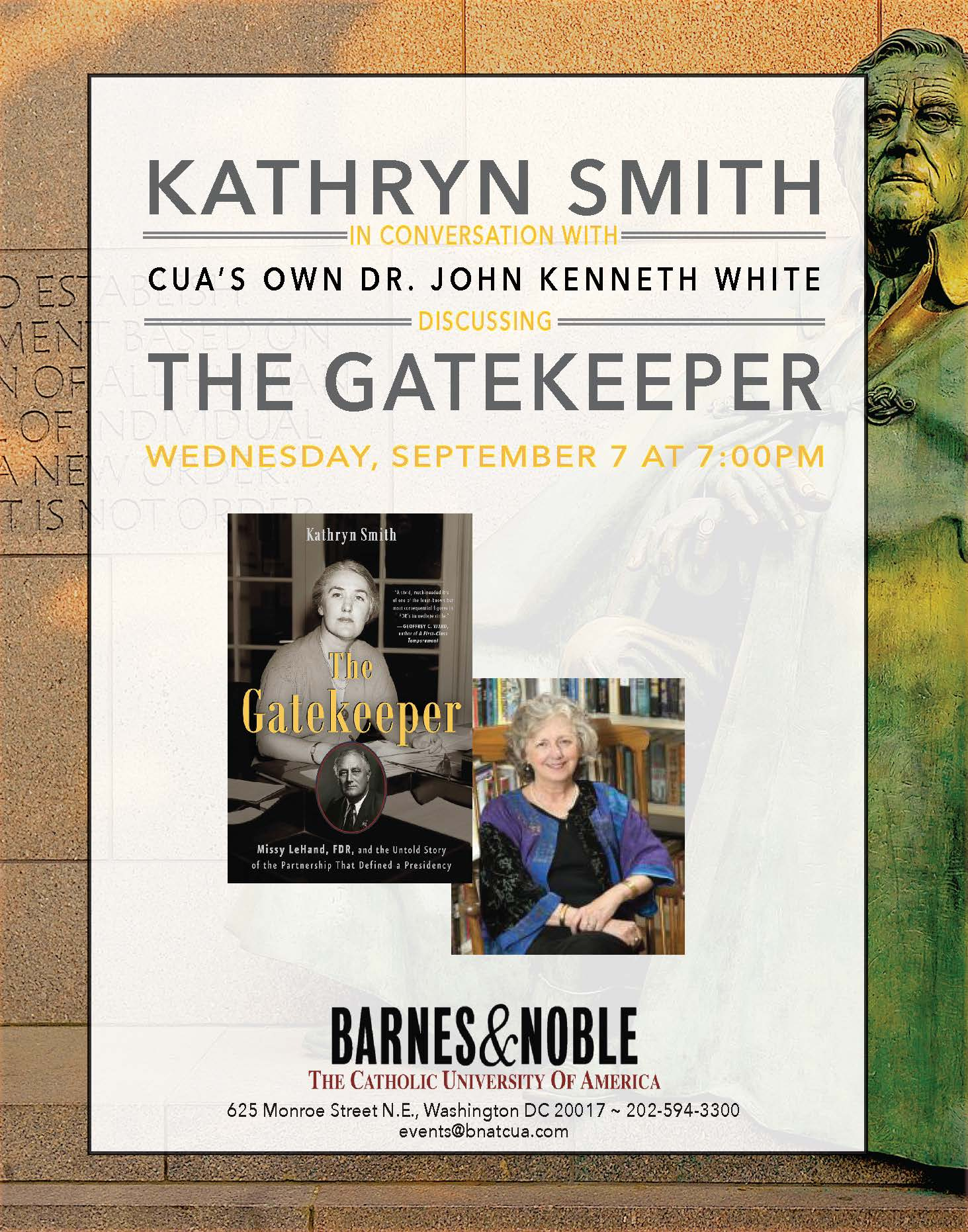 Barnes & Noble: Kathryn Smith Discusses The Gatekeeper