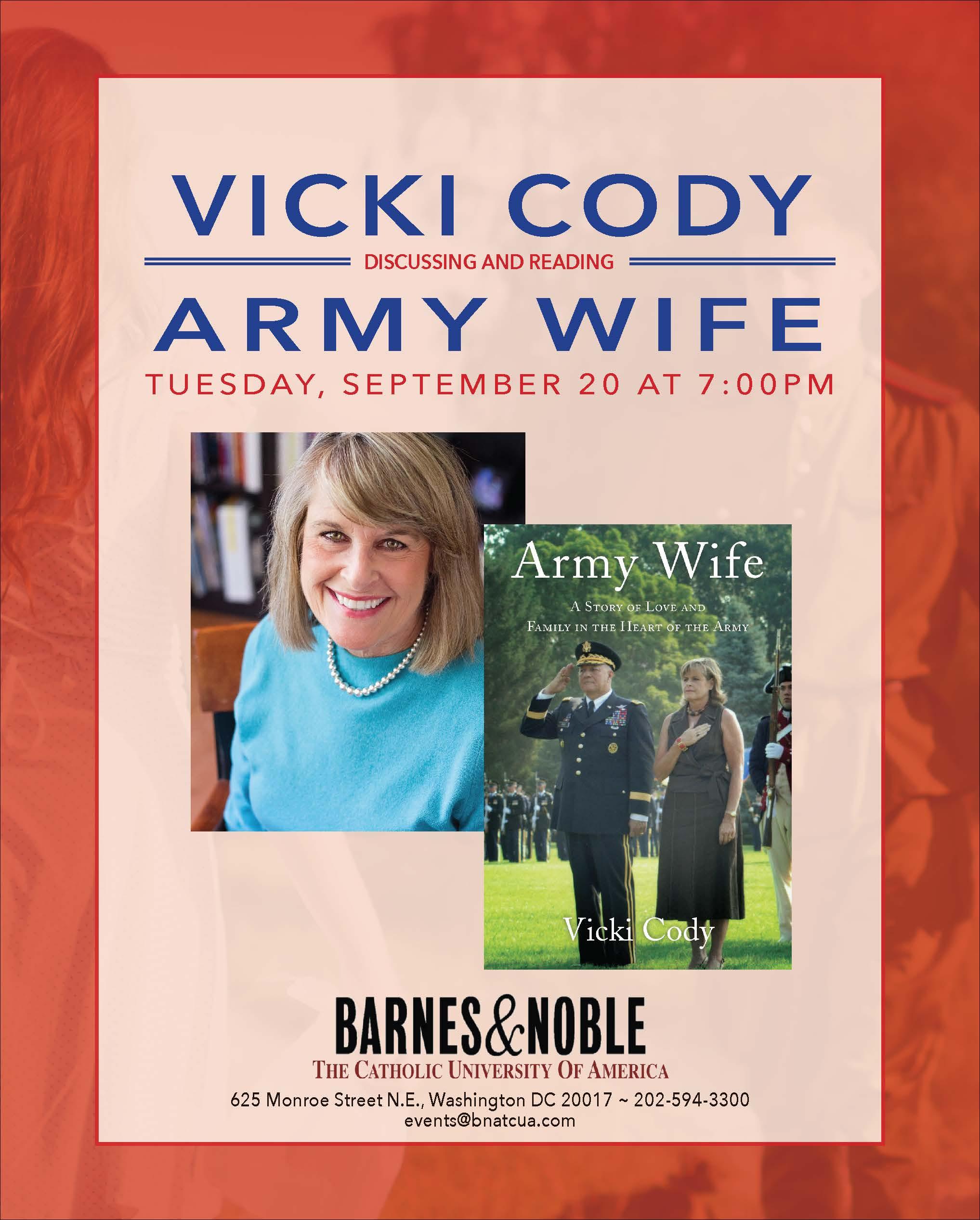 Barnes & Noble:  Army Wife by Vicki Cody