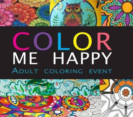 "Barnes & Noble: ""Color Me Happy"" Adult Coloring Event"