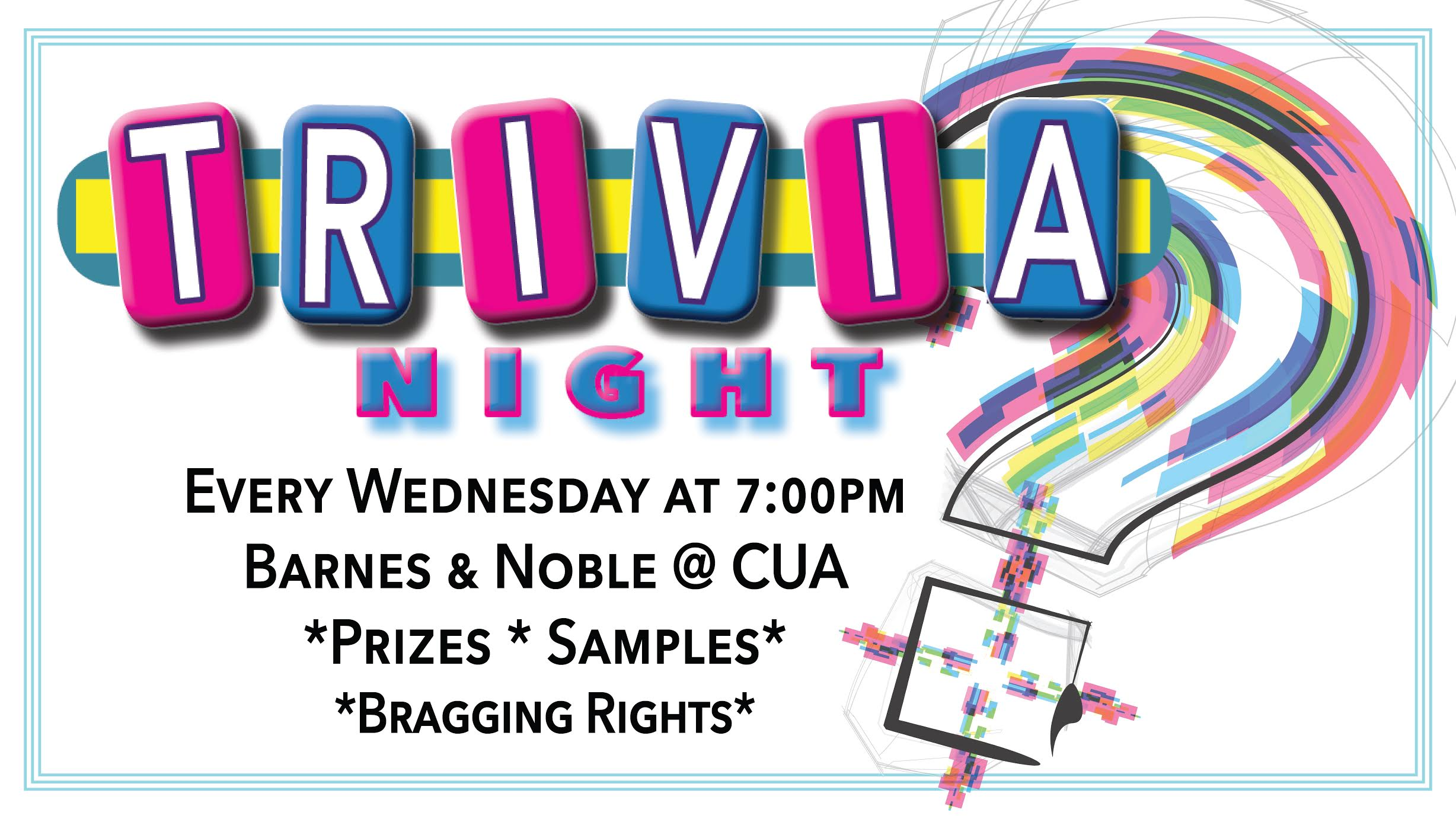 Barnes & Noble: Trivia Night – Wednesdays @ 7pm
