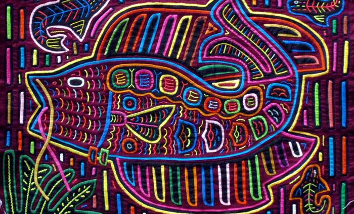 ArtJamz: Panamanian Mola Painting