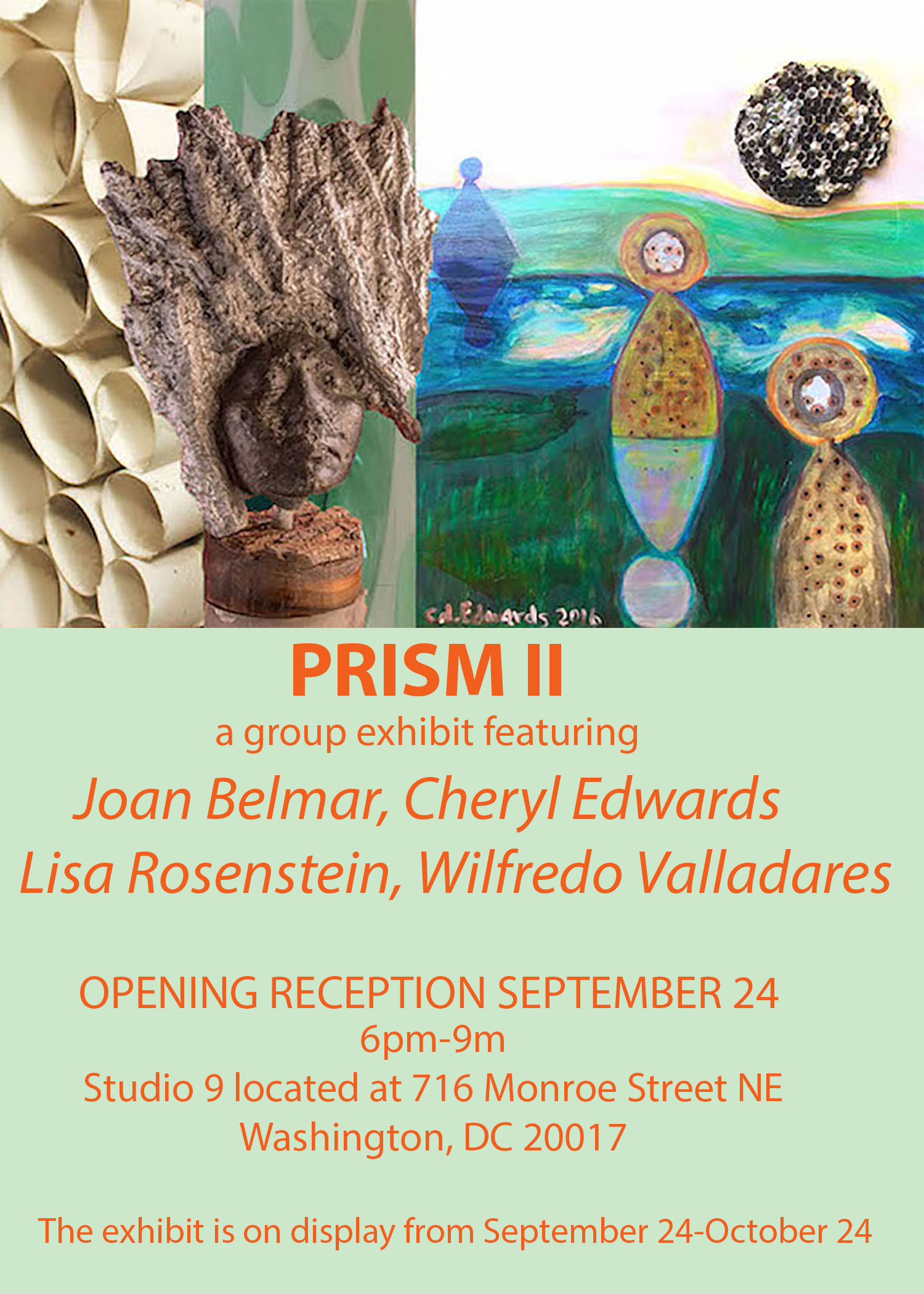 Cheryl Edwards Studio: Prism II - Group Exhibit