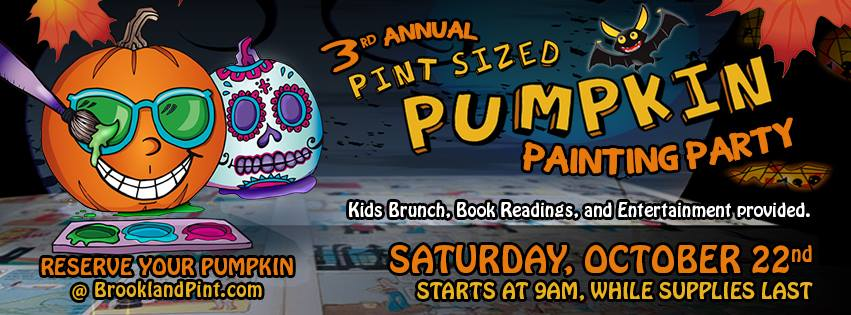 Third Annual Pint-Sized Pumpkin Painting Party