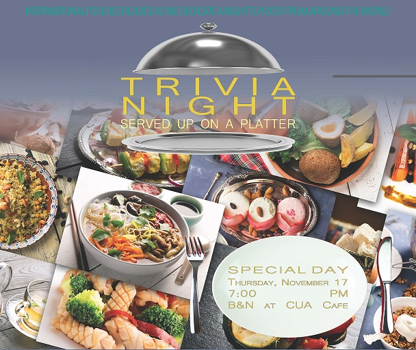Barnes & Noble: International Food Trivia