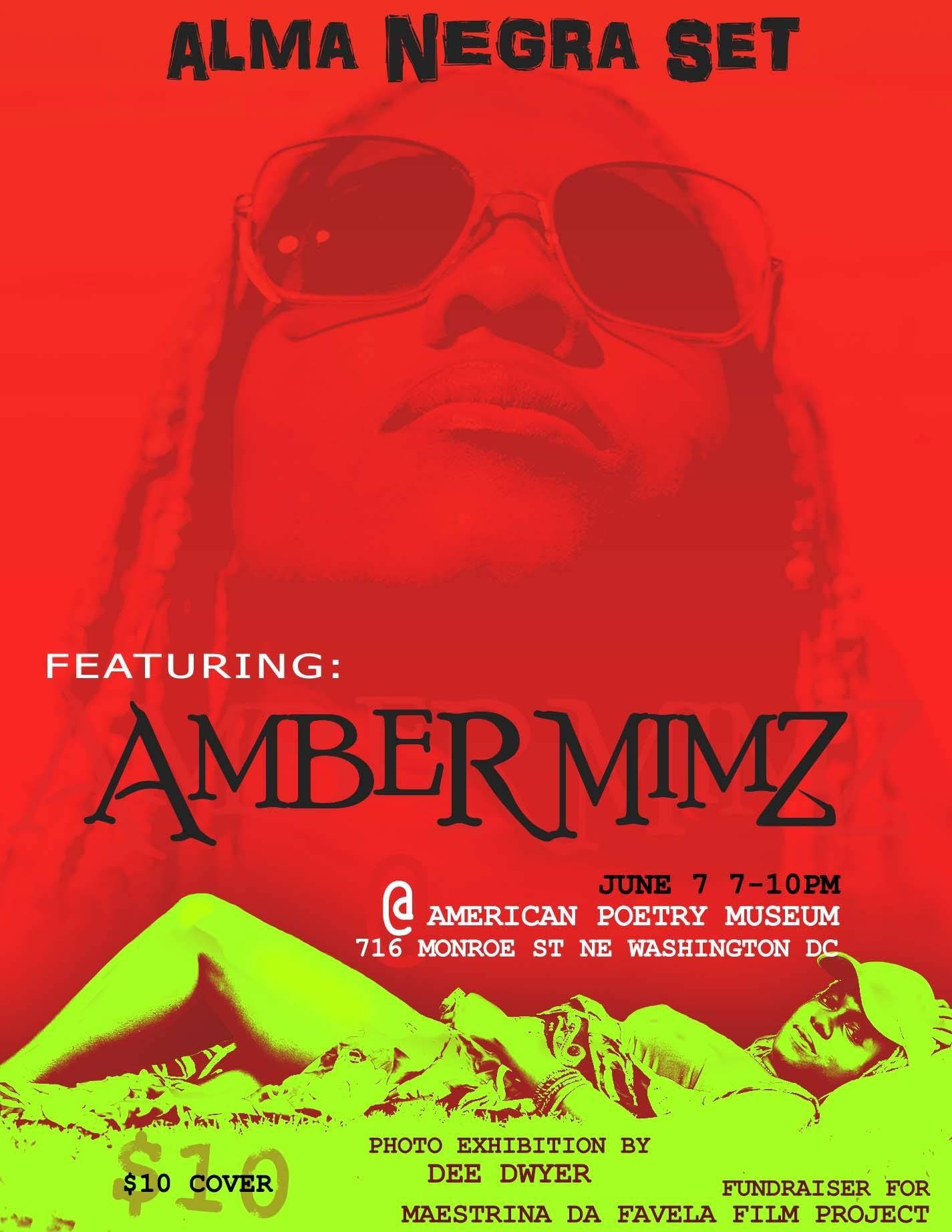 American Poetry Museum: Alma Negra Sets - Amber Mimz
