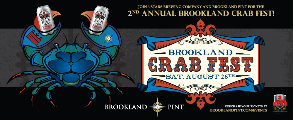 Brookland Pint:  Second Annual Crab Fest