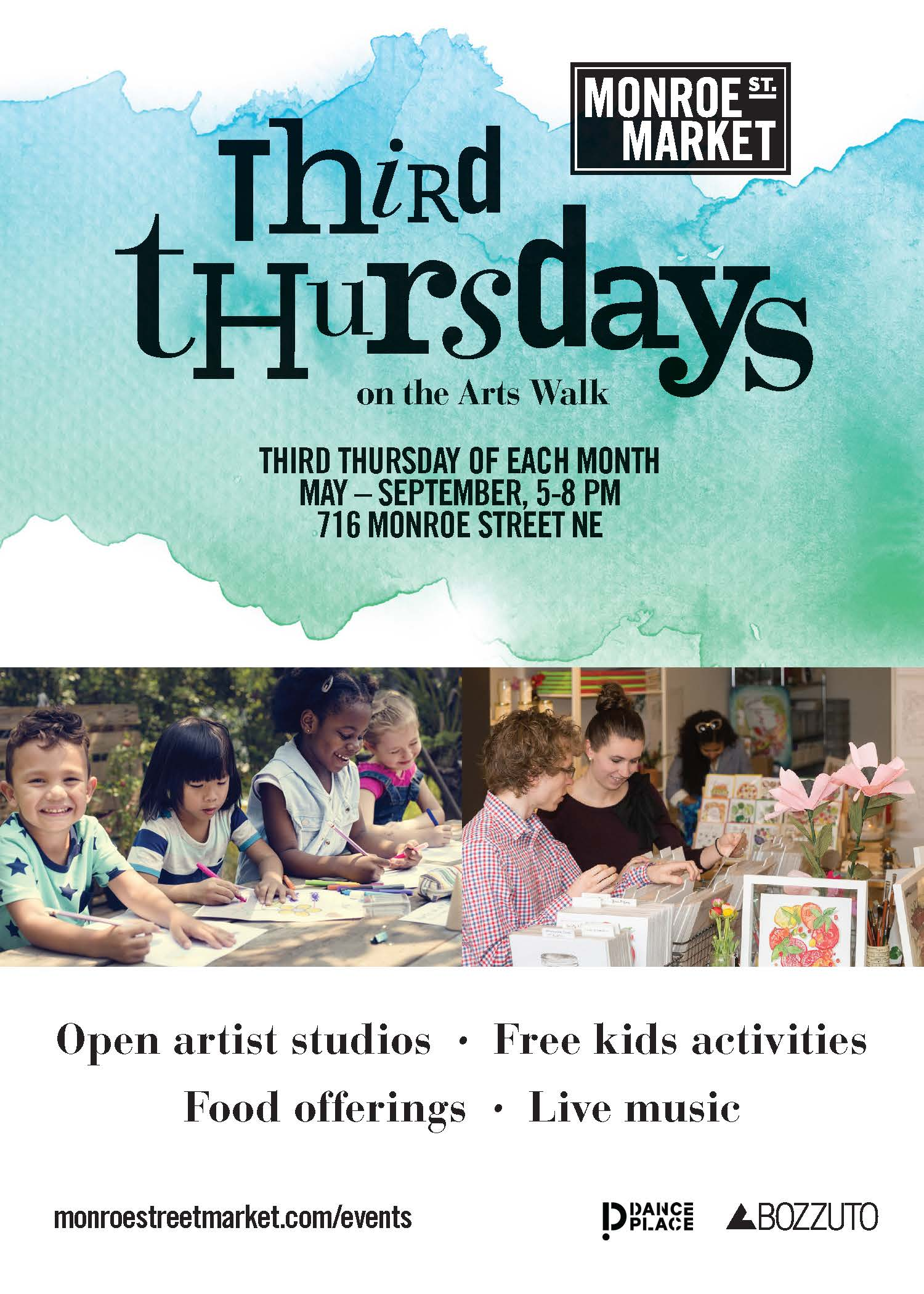 Third Thursdays on the Arts Walk