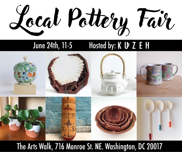 Arts Walk:  Second Annual DC Pottery Fair