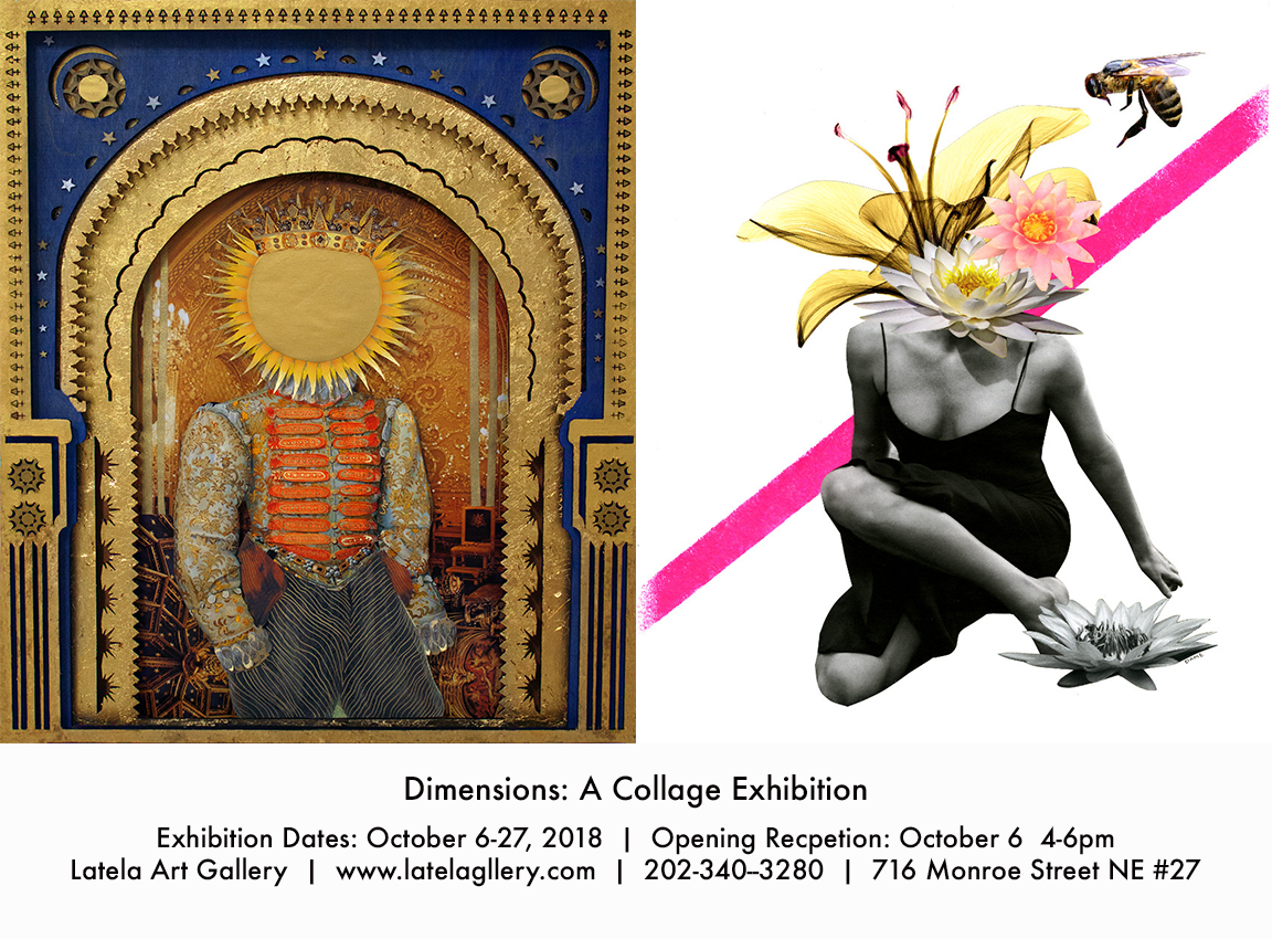 Latela Art Gallery: Dimensions: A Collage Exhibition Opening Reception
