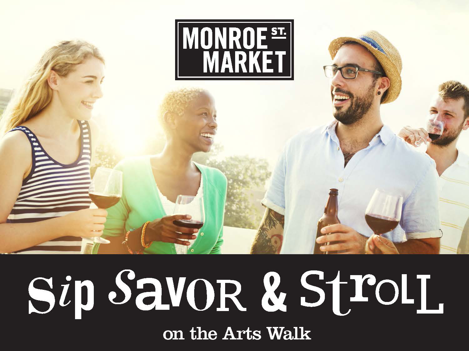 Cancelled: Sip, Savor & Stroll on the Arts Walk