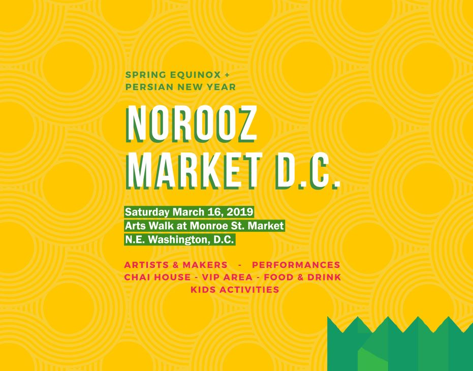 Norooz Market on the Arts Walk