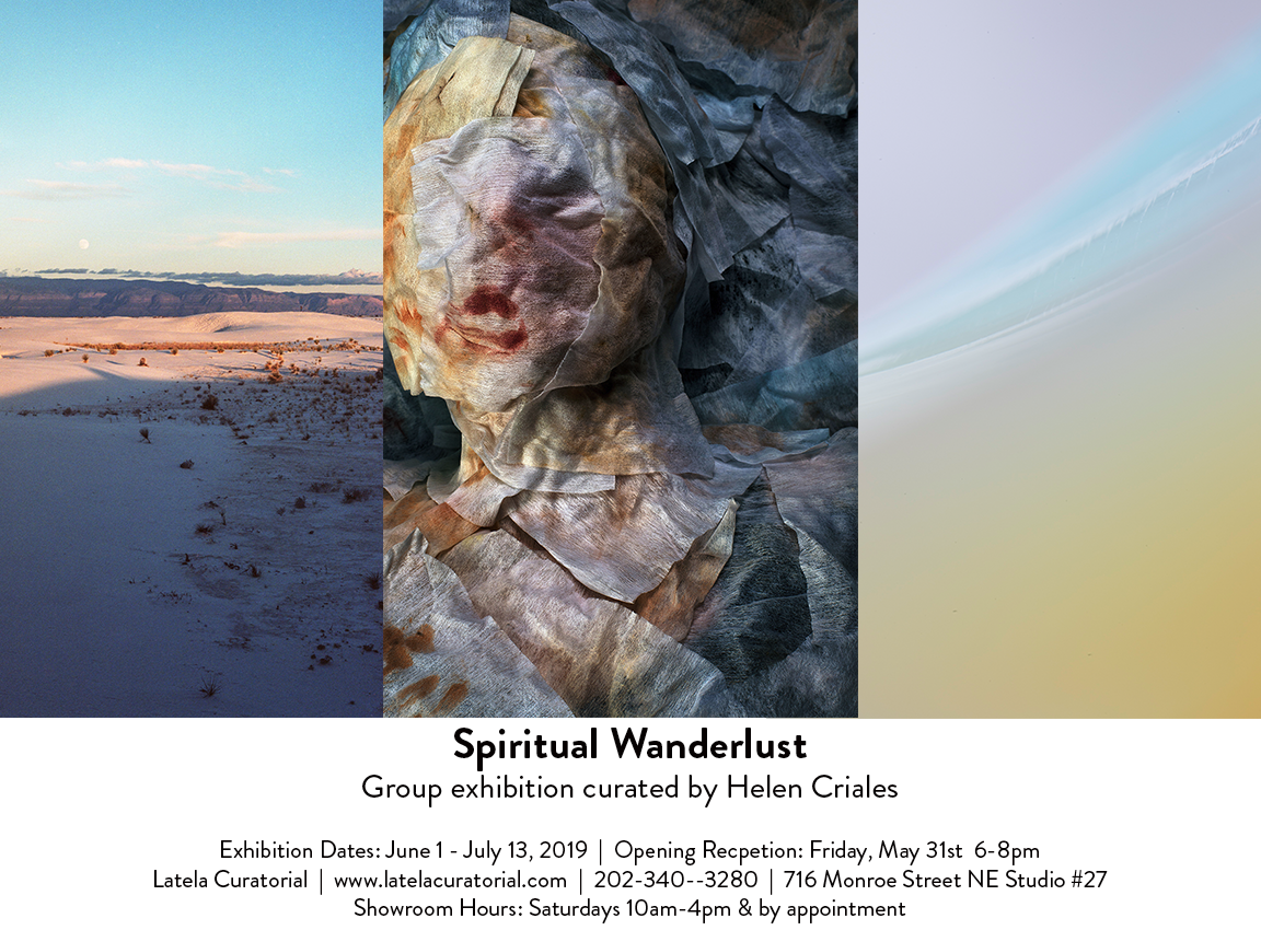 Spiritual Wanderlust Exhibit at Latela Curatorial