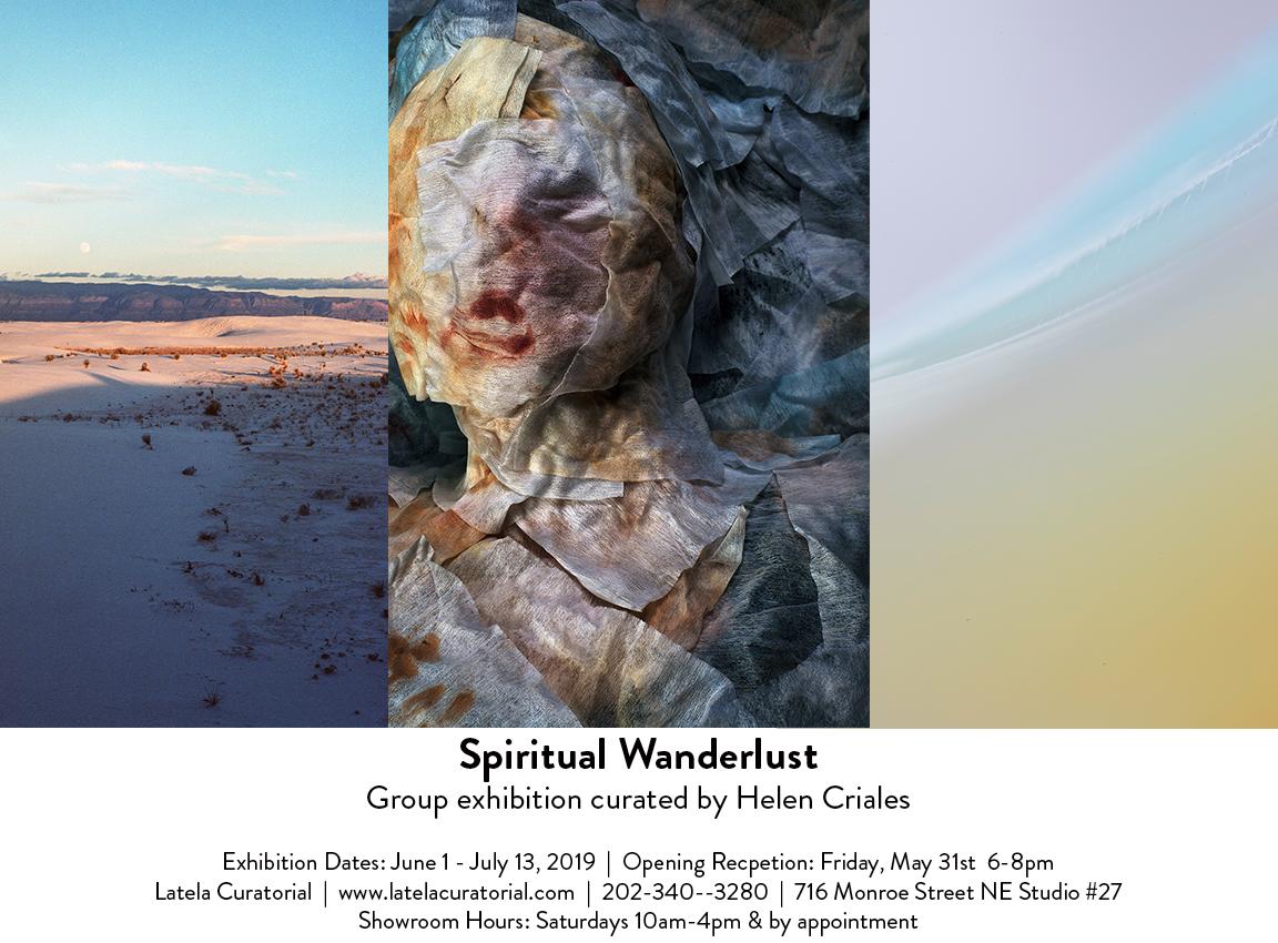 Spiritual Wanderlust Exhibit at Latela Curatorial