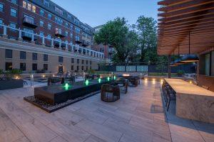 Everton - Courtyard Dusk