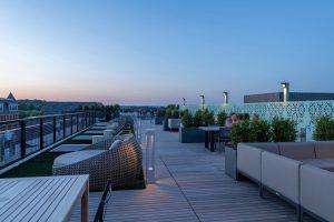 Everton - Rooftop Terrace Dusk
